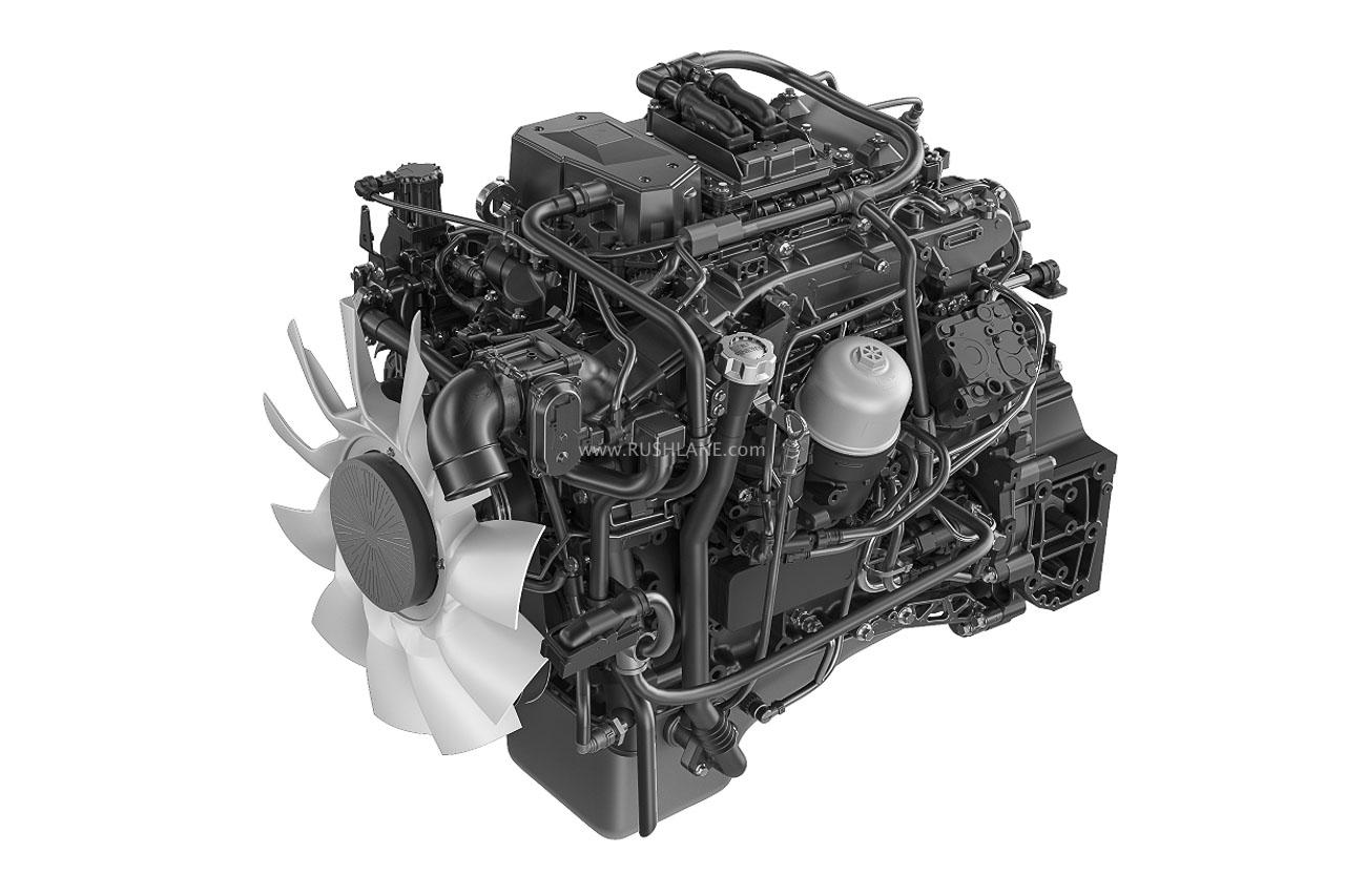 Eicher bus engine