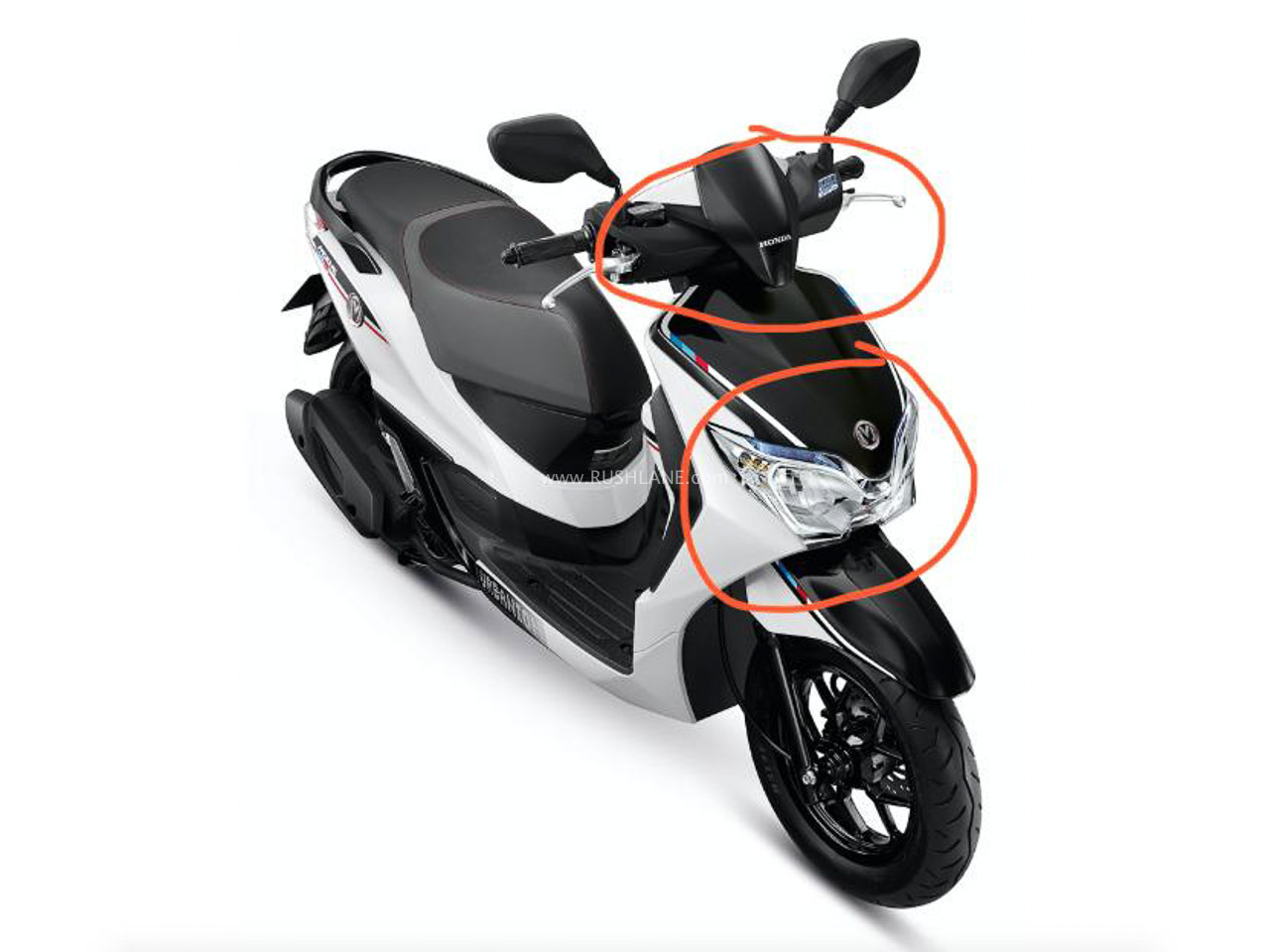 Honda Moove electric scooter