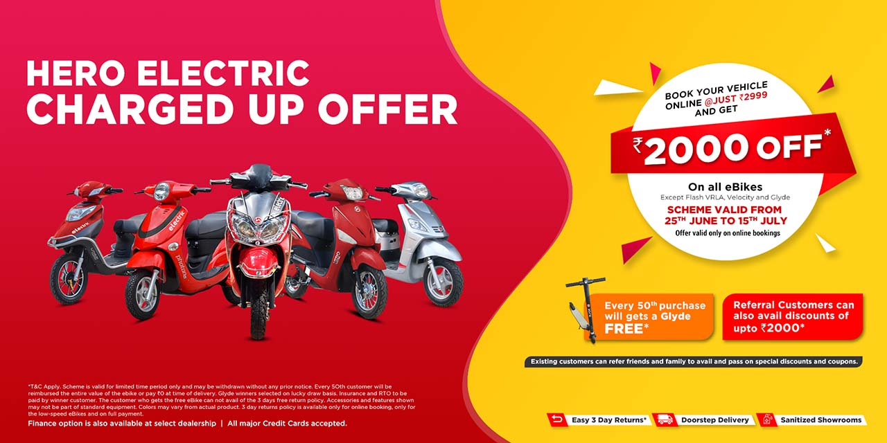 Hero Electric online offers