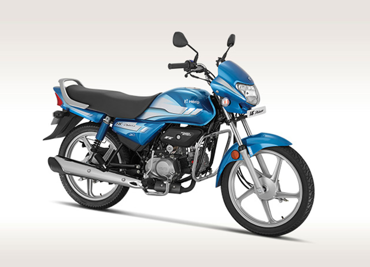 Hero HF Deluxe BS6 kick-start variant launch price Rs 46,800
