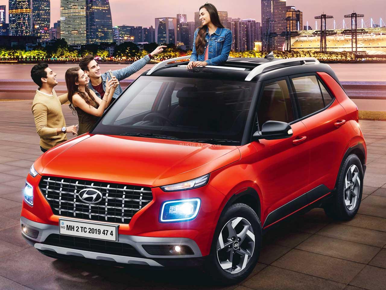 Hyundai Venue 1 lakh sales