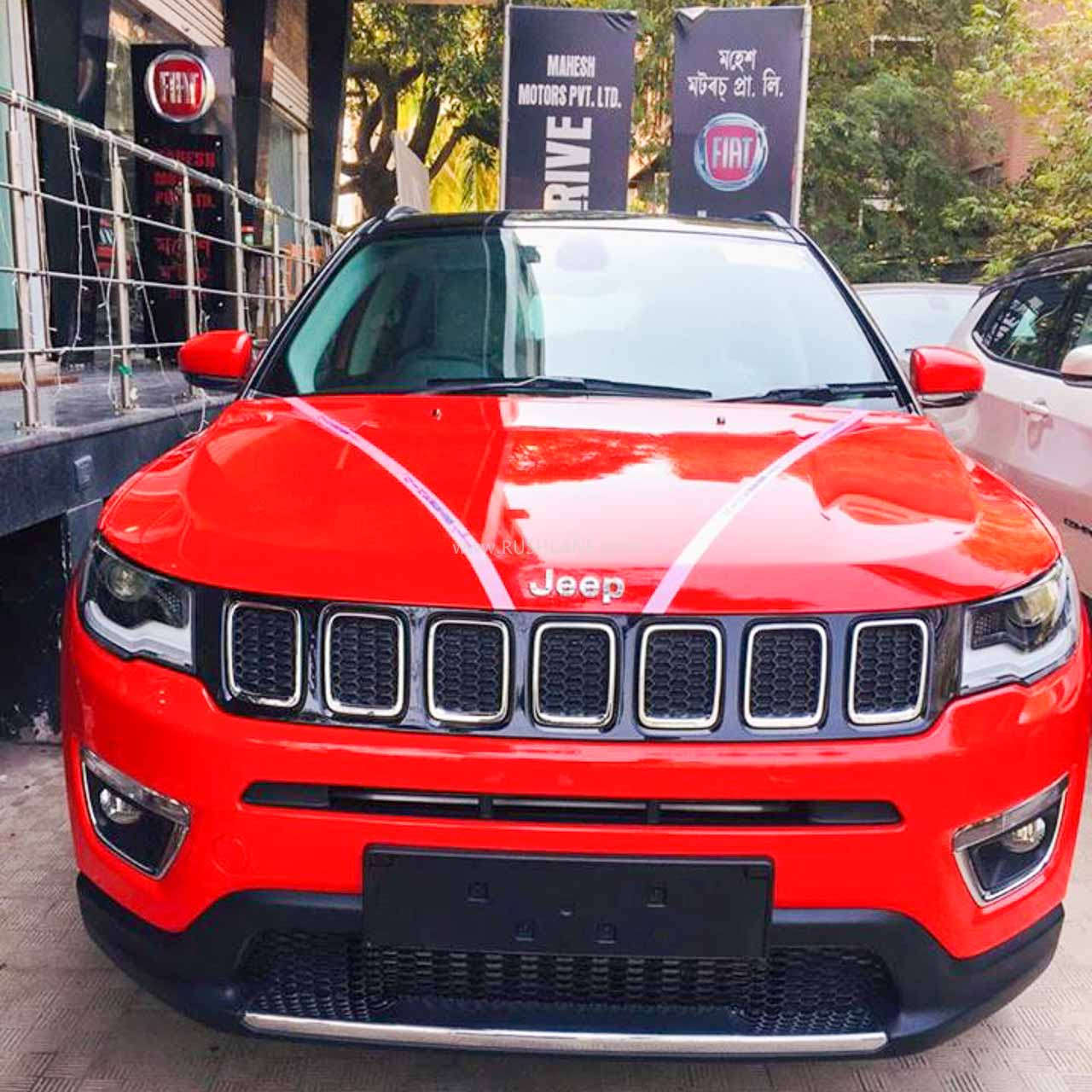 Jeep Compass Handling charges