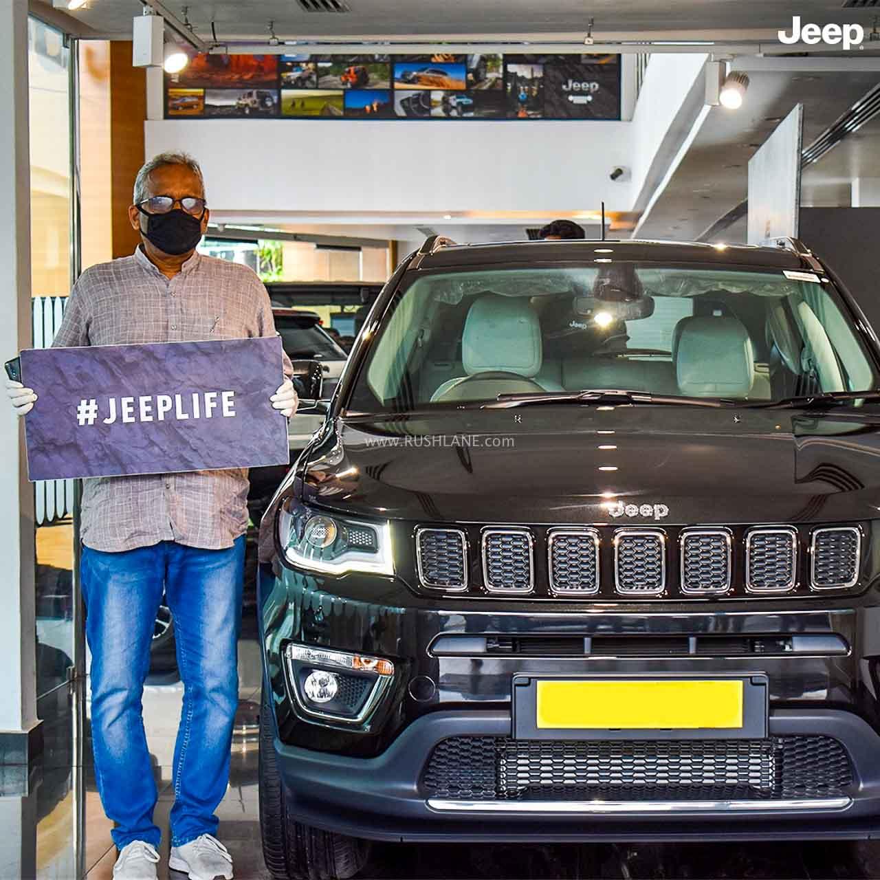 Jeep Compass deliveries restart