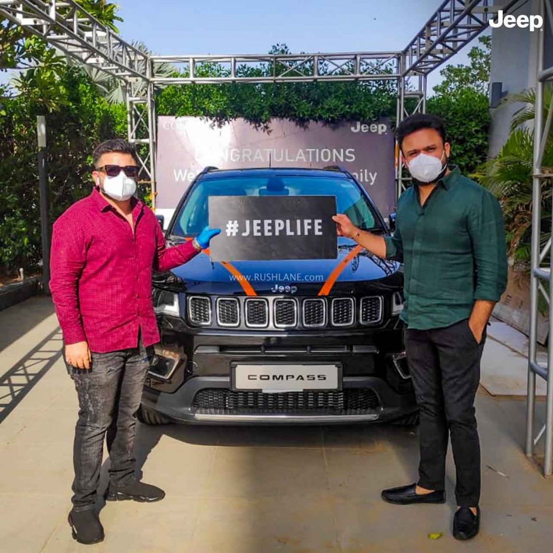 Jeep Compass deliveries