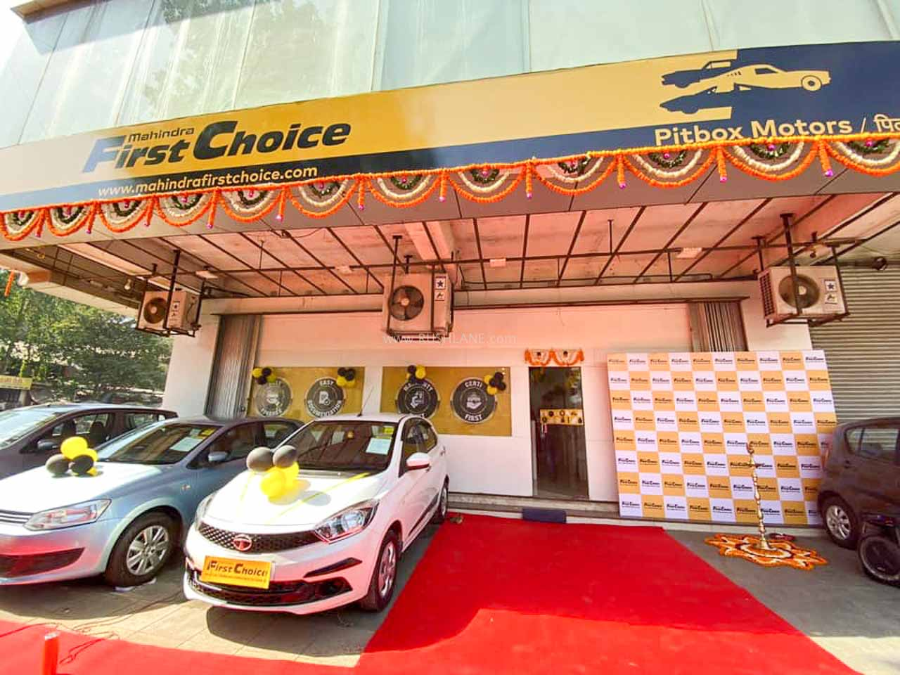 Mahindra First Choice store