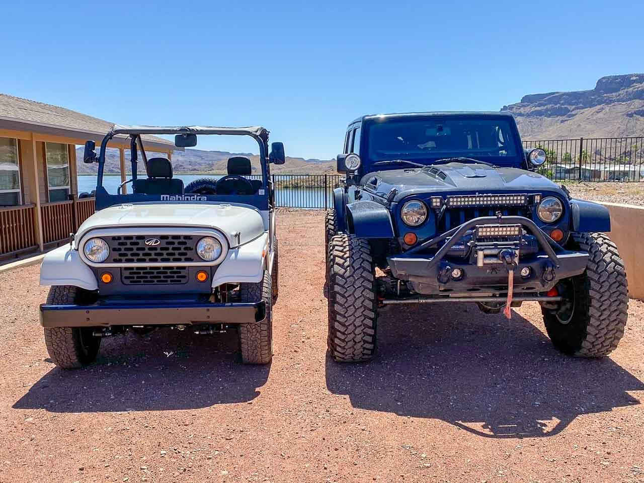 Mahindra Roxor and Jeep