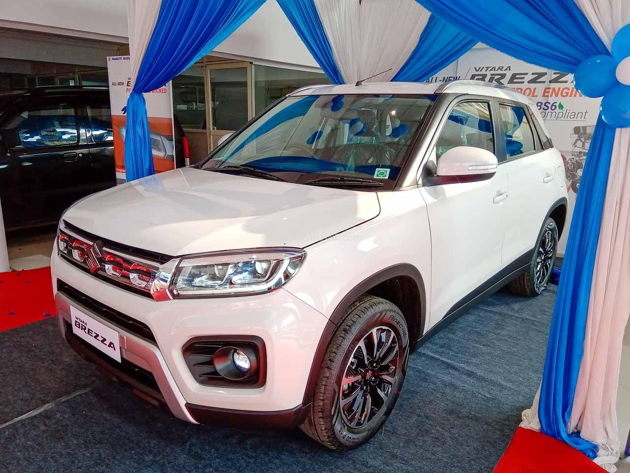 New Maruti Brezza Petrol BS6