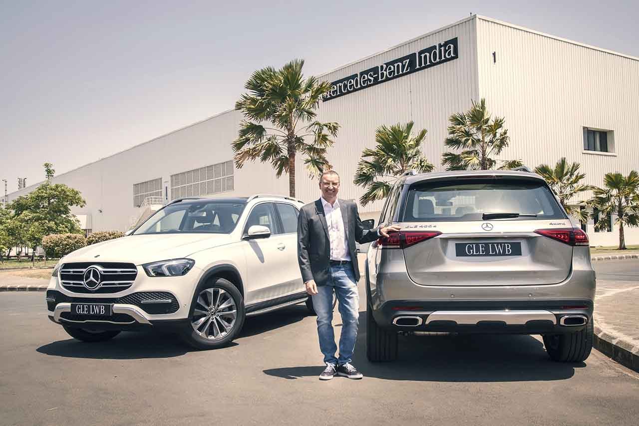 Mercedes-Benz GLE 450 and 450d