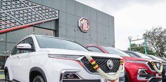MG Hector 1 year sales