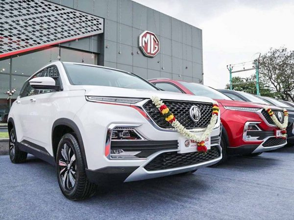 MG Hector 1 year sales