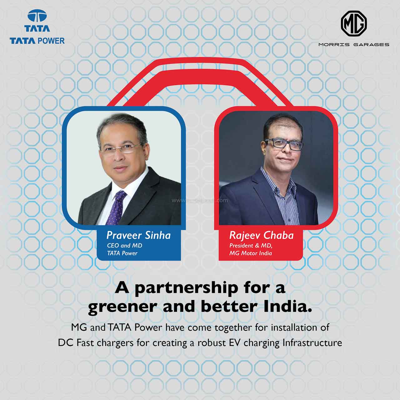 MG Tata join hands