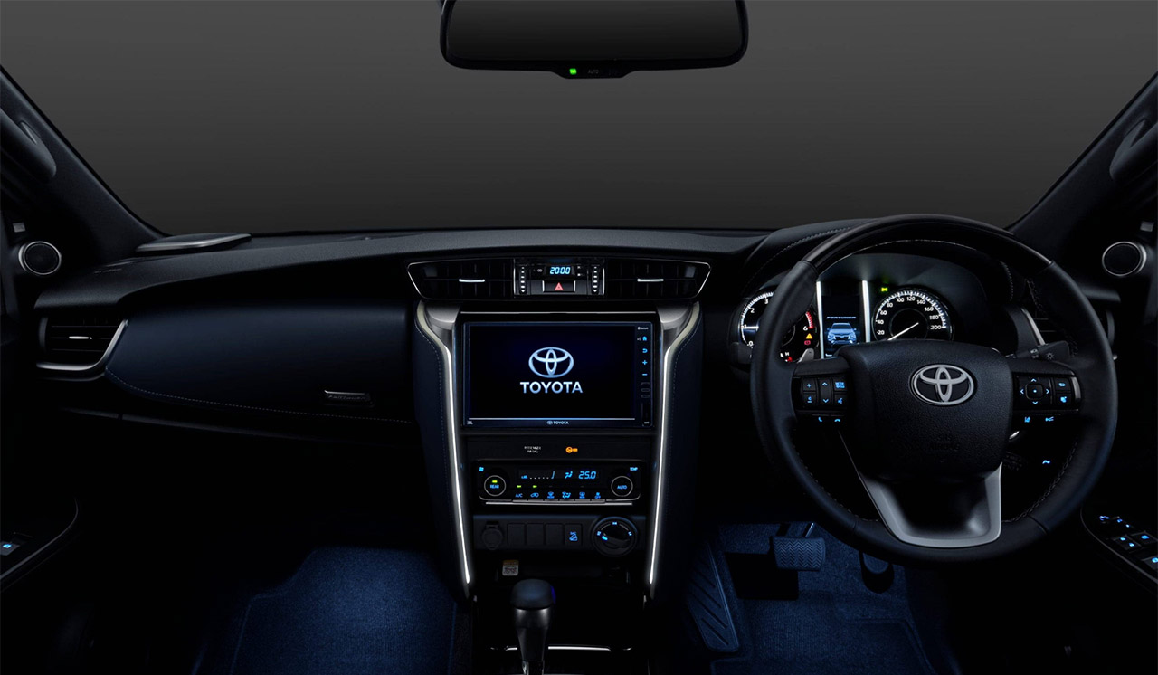 2021 Toyota Fortuner Legender - Interiors