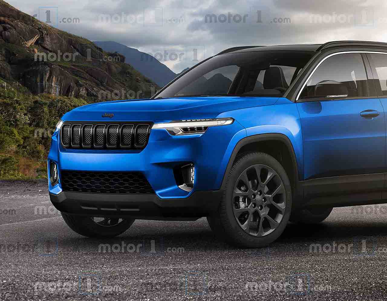 2022MY Jeep 'baby SUV' render