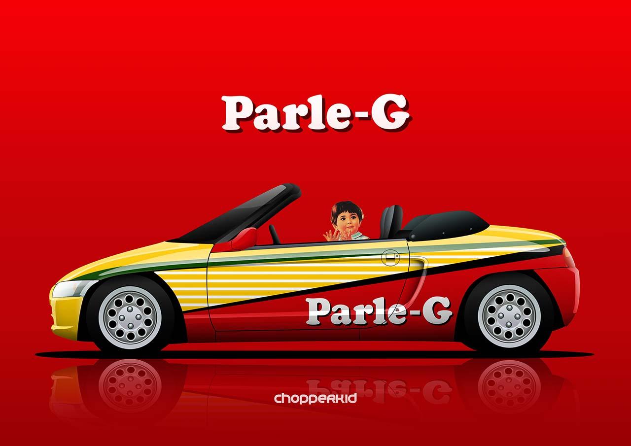 Parle-G Honda Beat