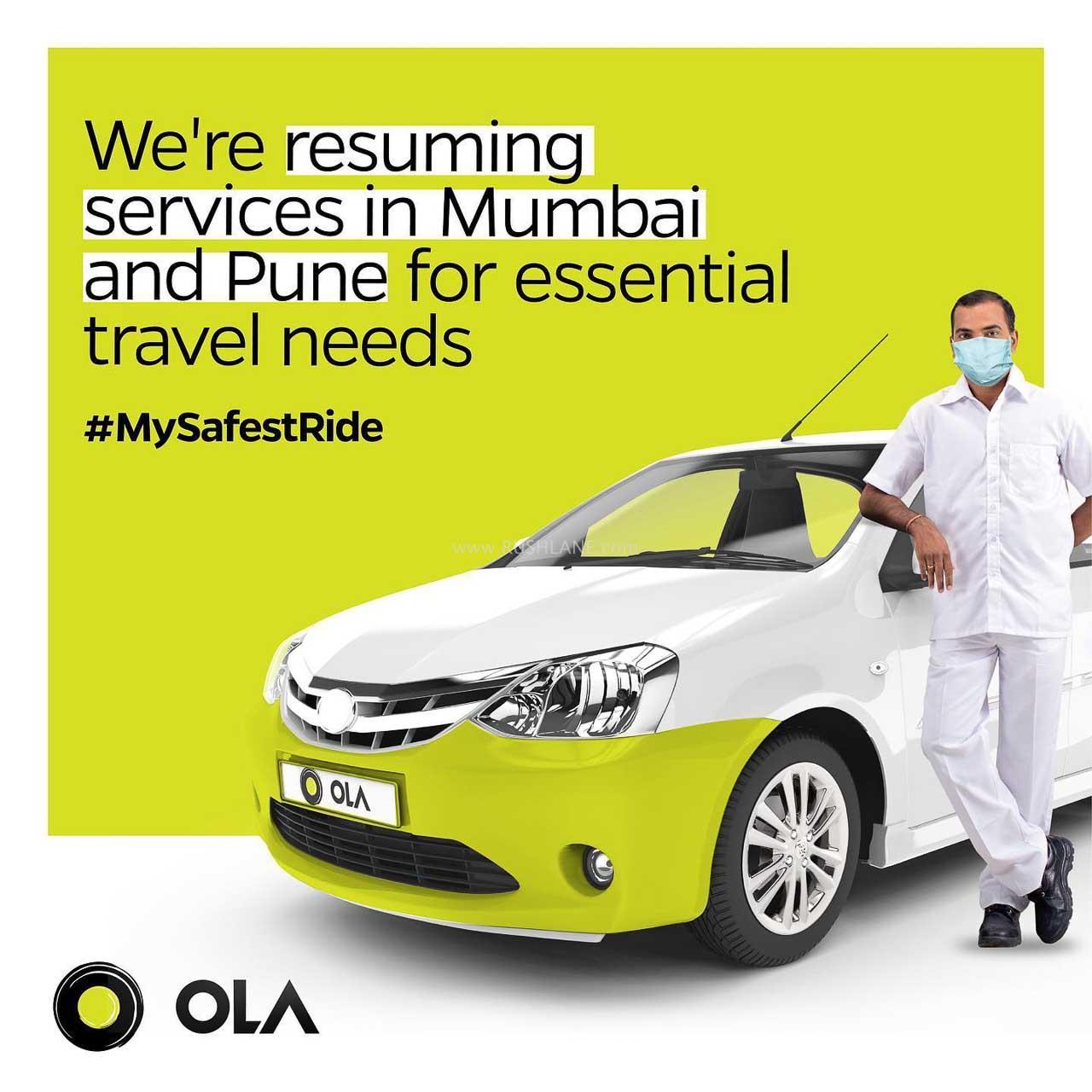 Ola Cab India Safety