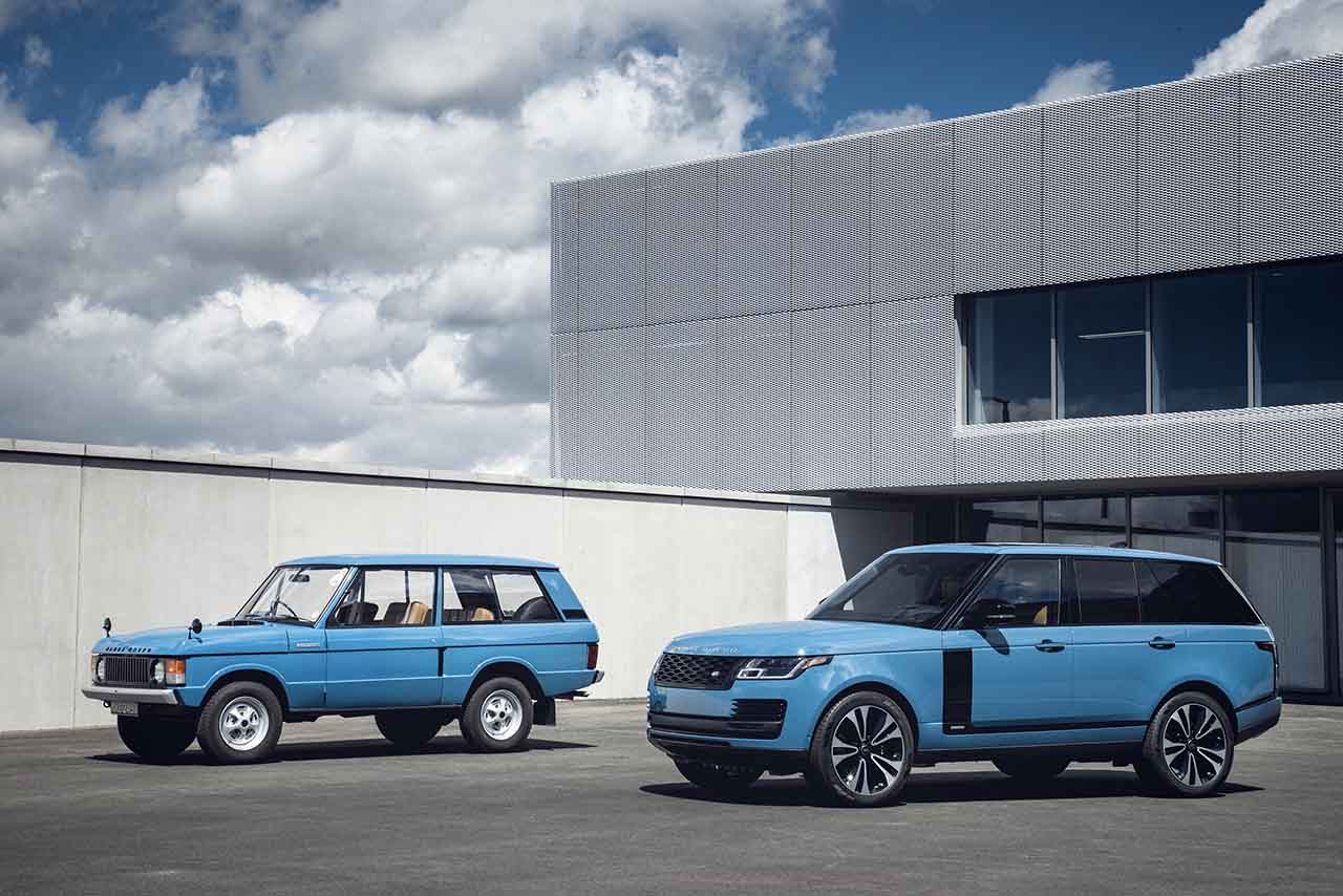 Range Rover Fifty debuts to celebrate the off-roader's 50th anniversary