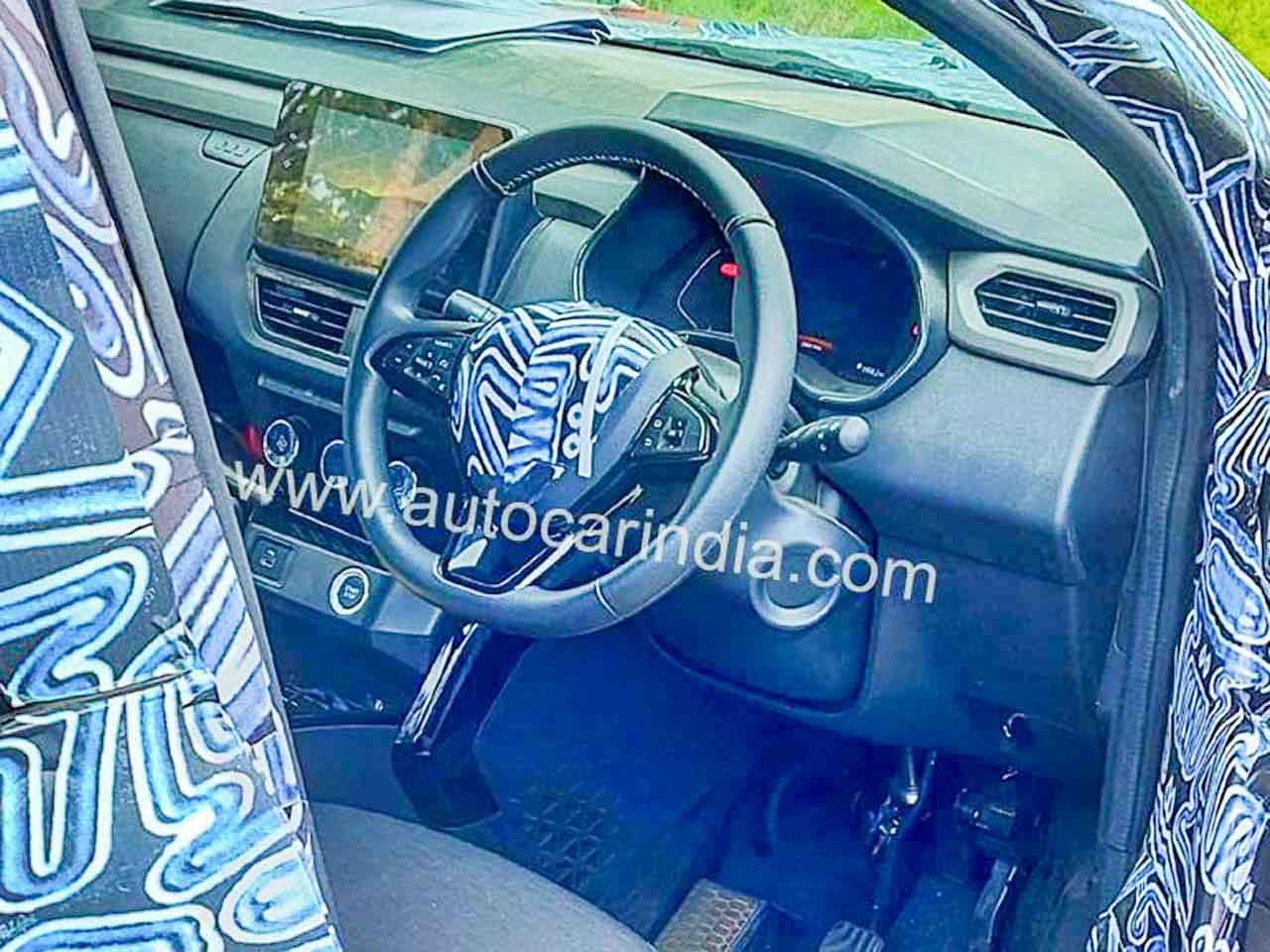 Renault Kiger Dashboard