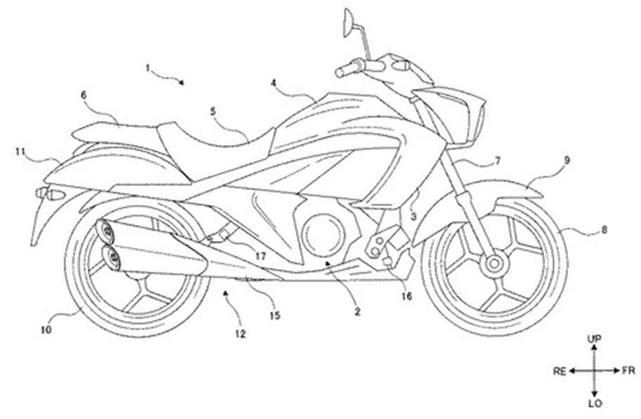 Suzuki Intruder 250 patent image