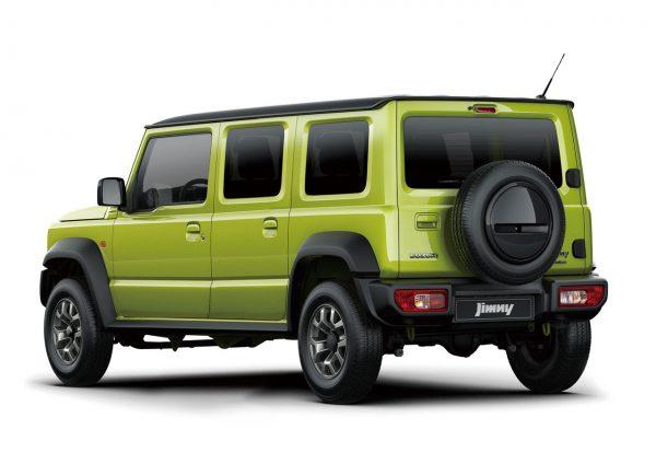 Suzuki Jimny 5 Door render