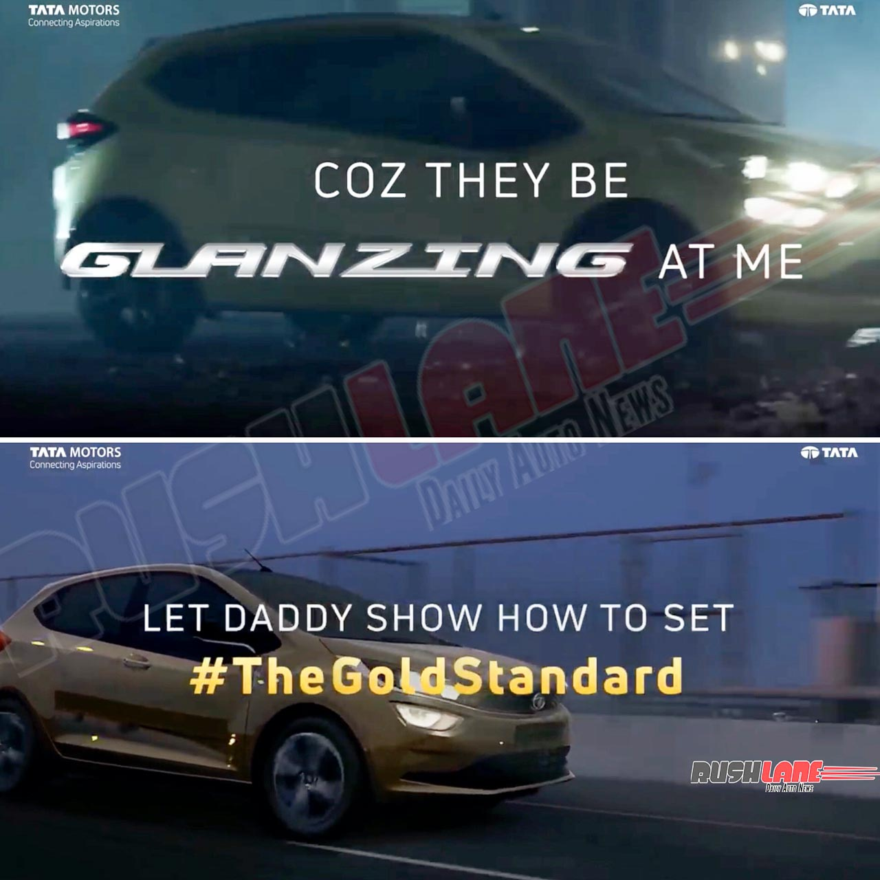 Tata Altroz takes dig at Toyota Glanza