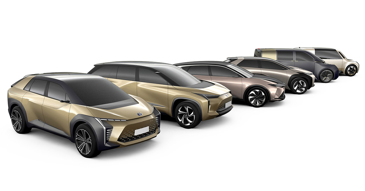 Toyota's six upcoming EVs