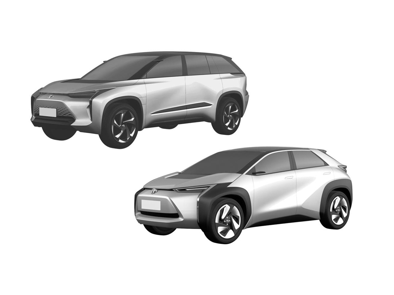 Toyota's upcoming electric crossovers in China