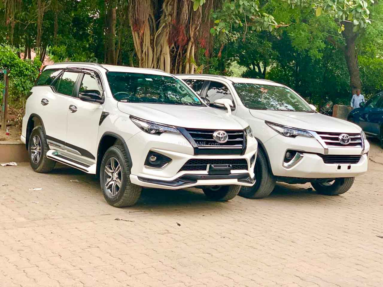 Toyota Fortuner Gets A Flashy Makeover With TRD Sportivo Body Kit