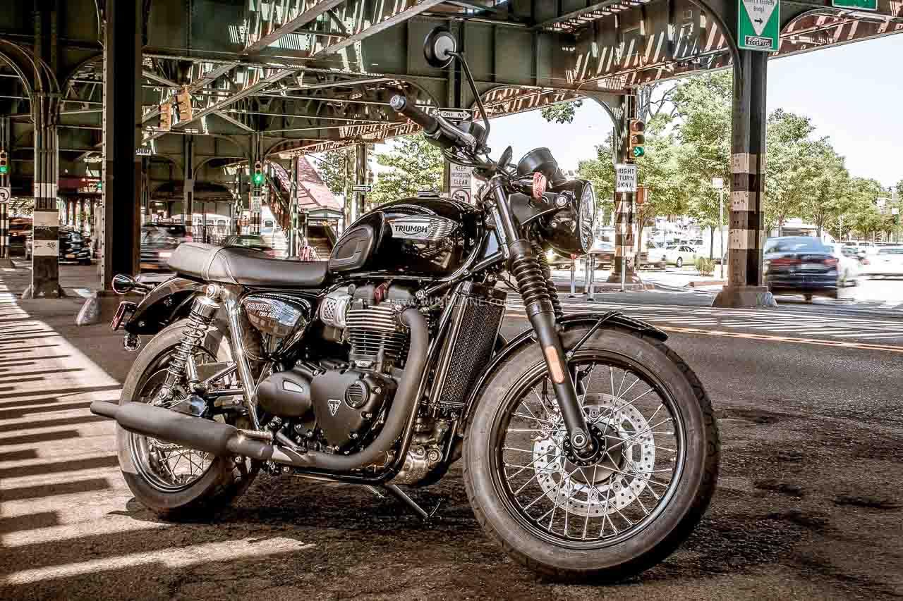Triumph Bonneville Black Edition