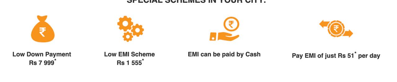 TVS XL EMI offers