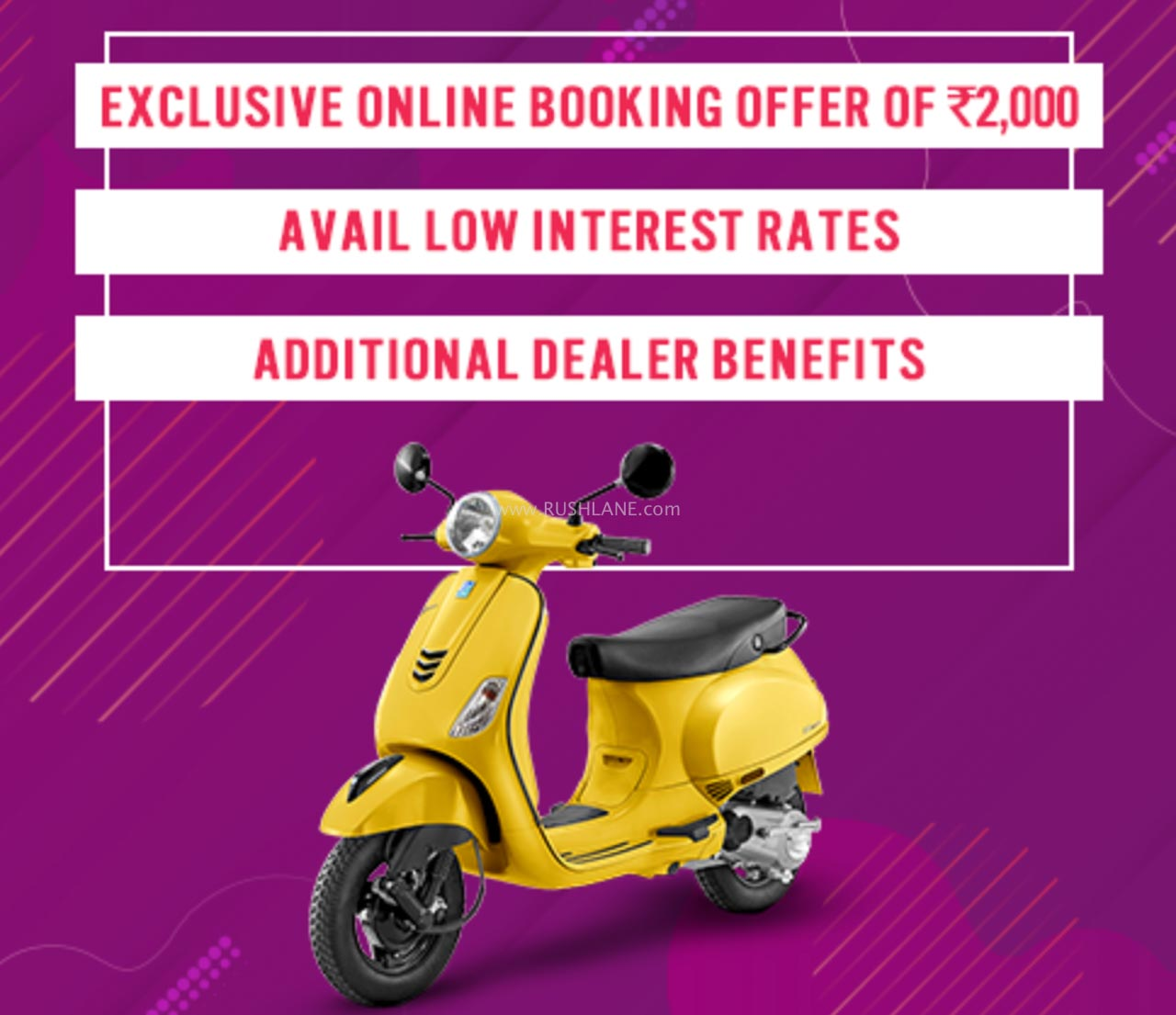 Vespa, Aprilia scoters online sales, new benefits and offers launched