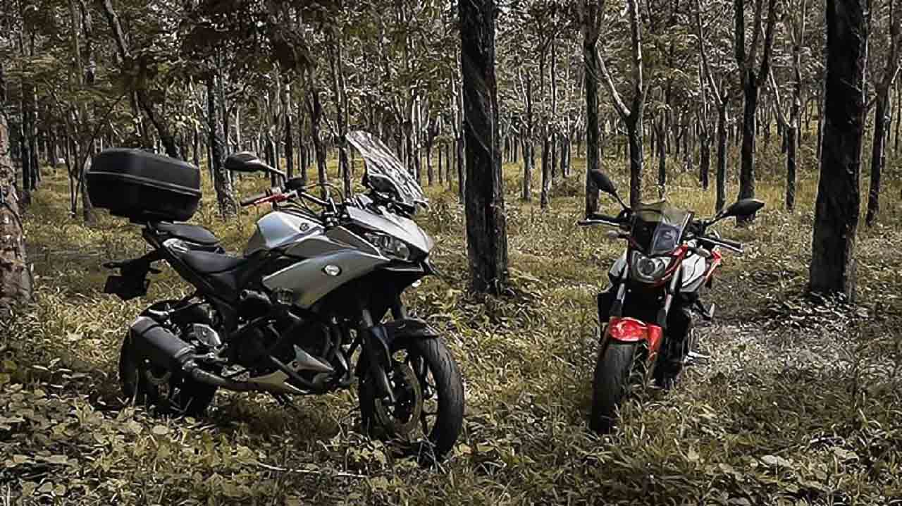 Yamaha Tracer 250 build