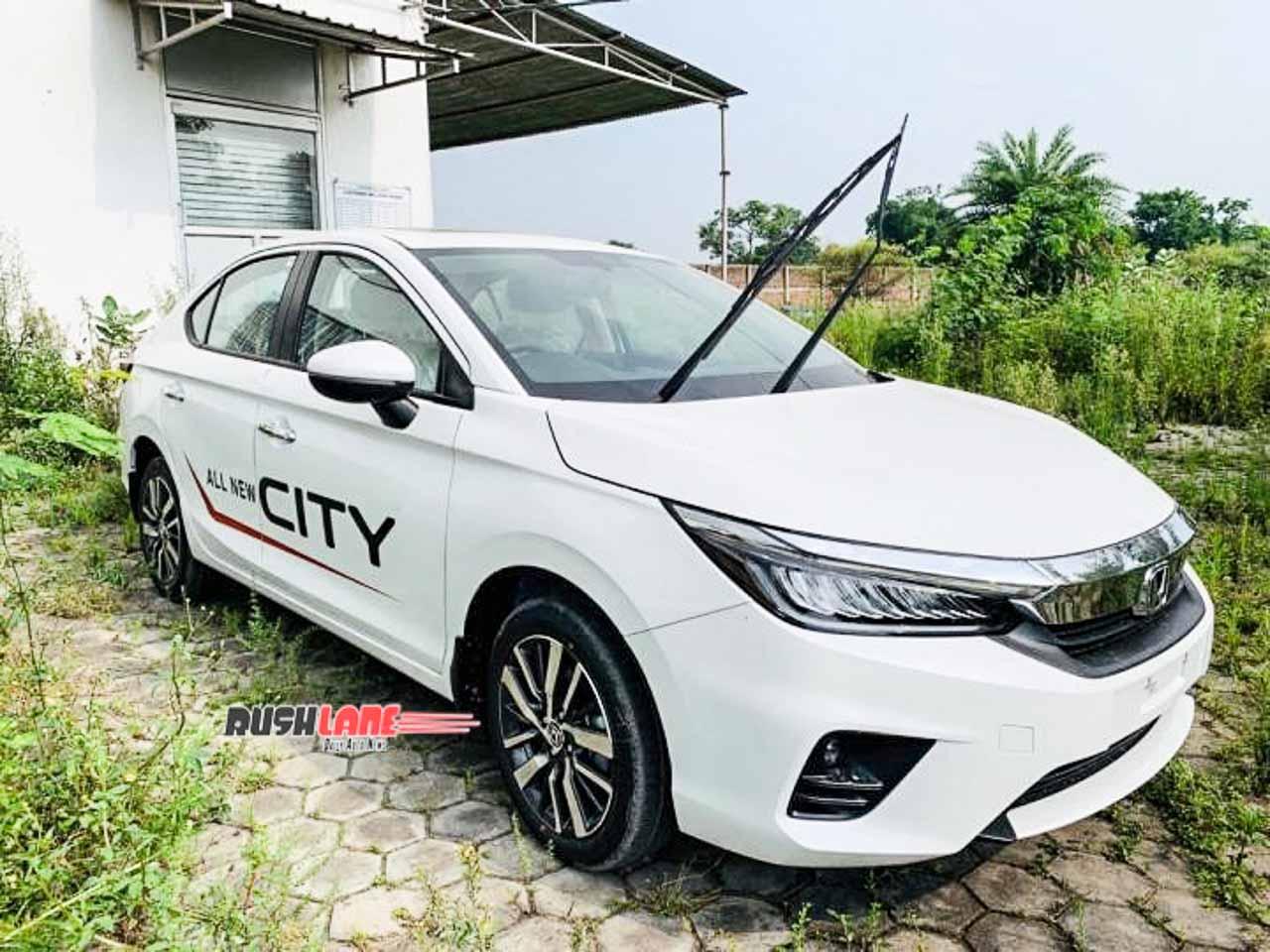 2020 Honda City test drive models start reaching dealership yards