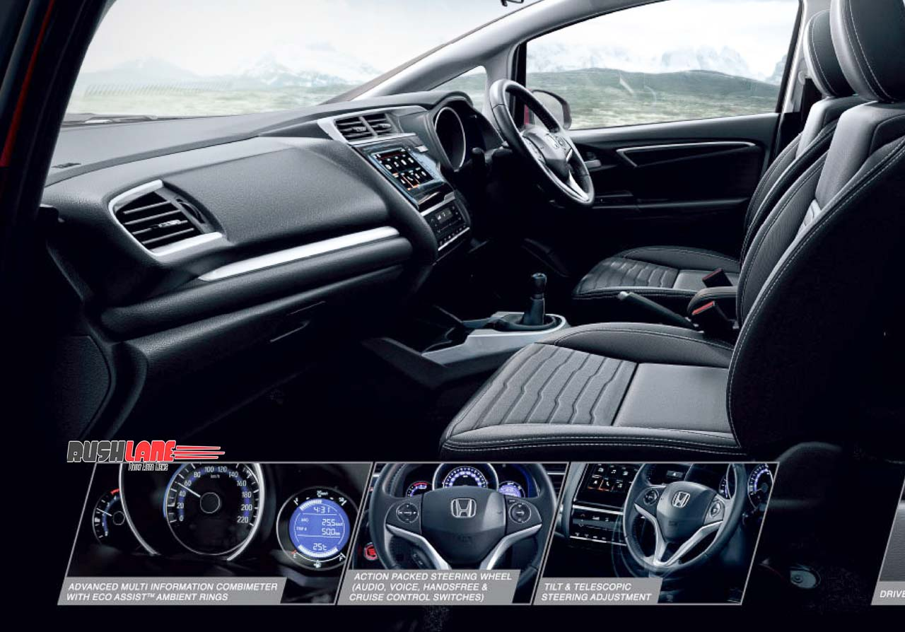 2020 Honda WRV Facelift interiors