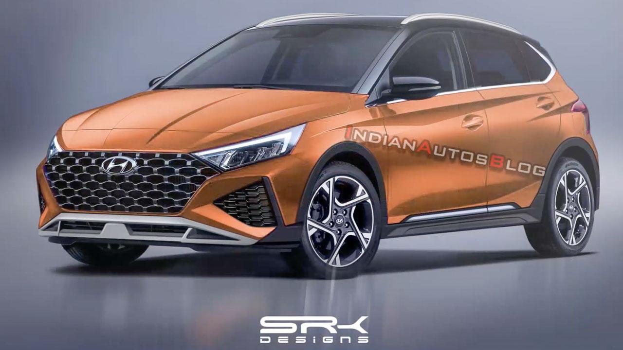 2020 Hyundai i20 Active Render