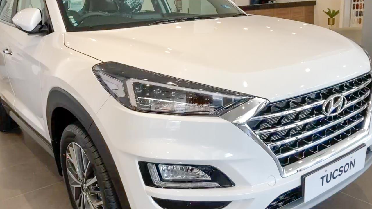2020 Hyundai Tucson Facelift arrives at dealer – Walkaround video