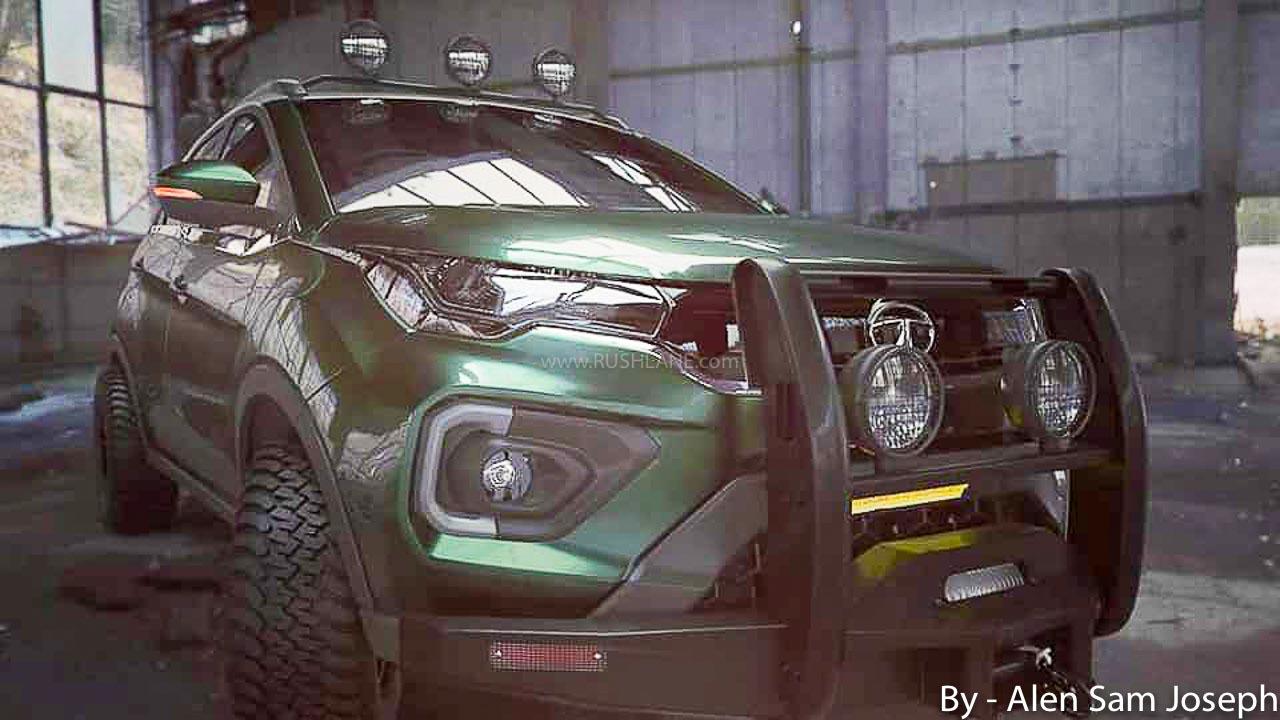 2020 Tata Nexon off-road render