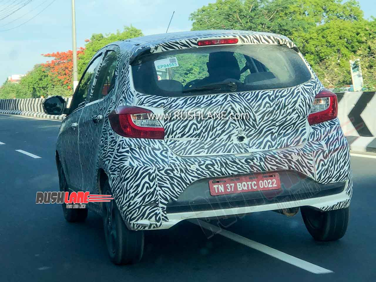 No styling differences from the existing petrol Tiago