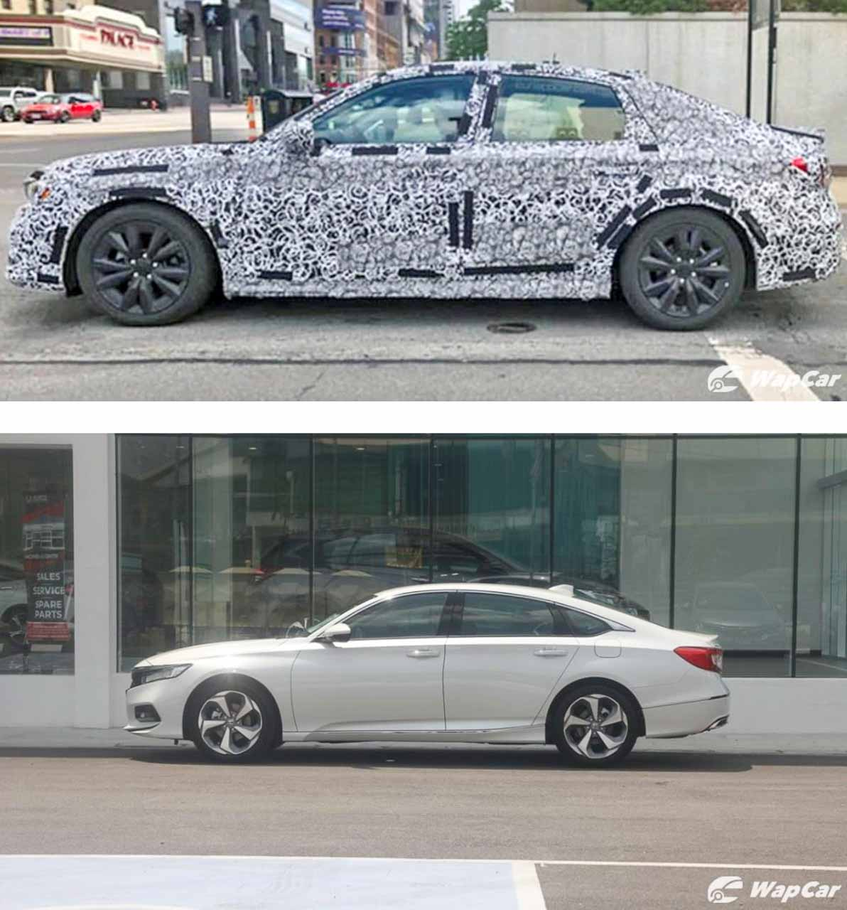 Next-gen Honda Civic spied testing with new LEDs, alloys