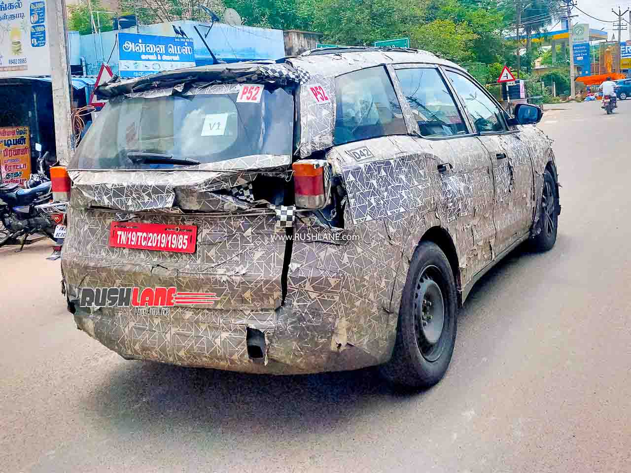 2021 Mahindra XUV500 SUV. Image - Praveen