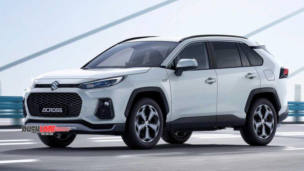 2021 Suzuki Across Debuts As A Toyota Rav4 Based Hybrid Suv