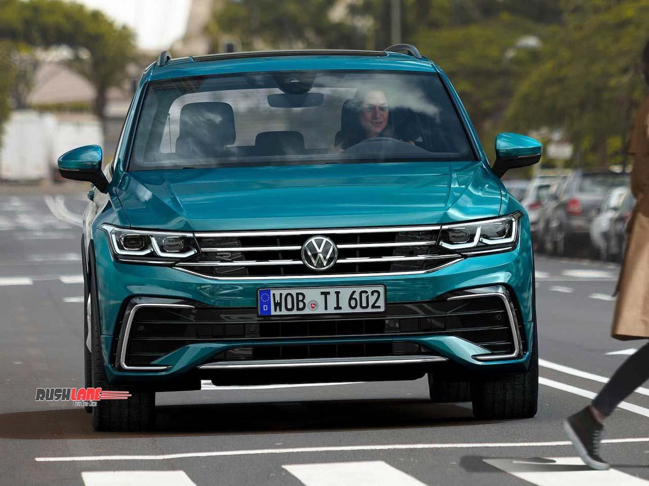 2021 VW Tiguan SUV Facelift gets new exteriors, interiors – Photos