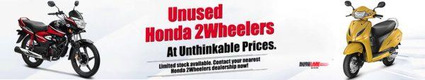 BS4 Honda two wheelers