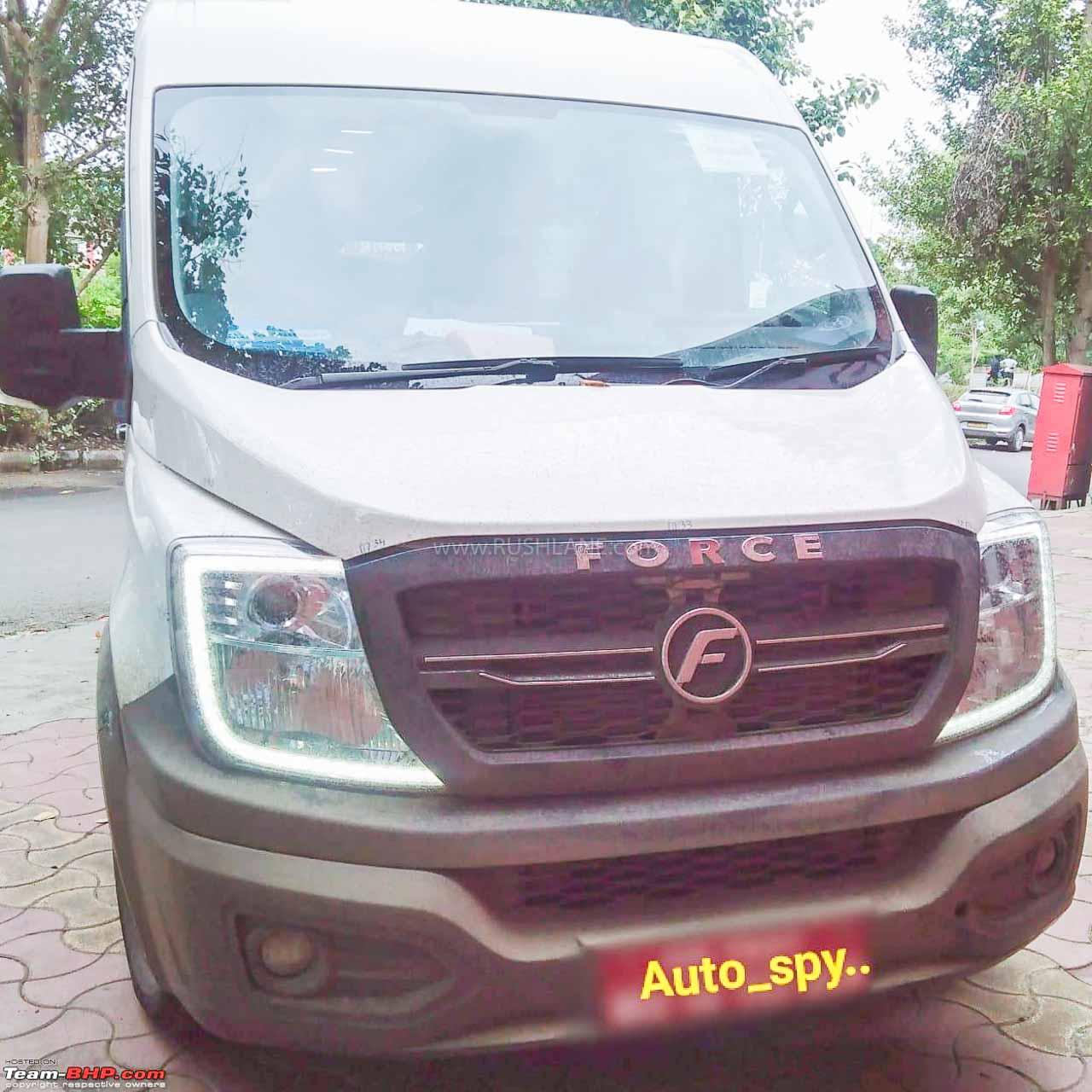Force T1N BS6 Diesel Van