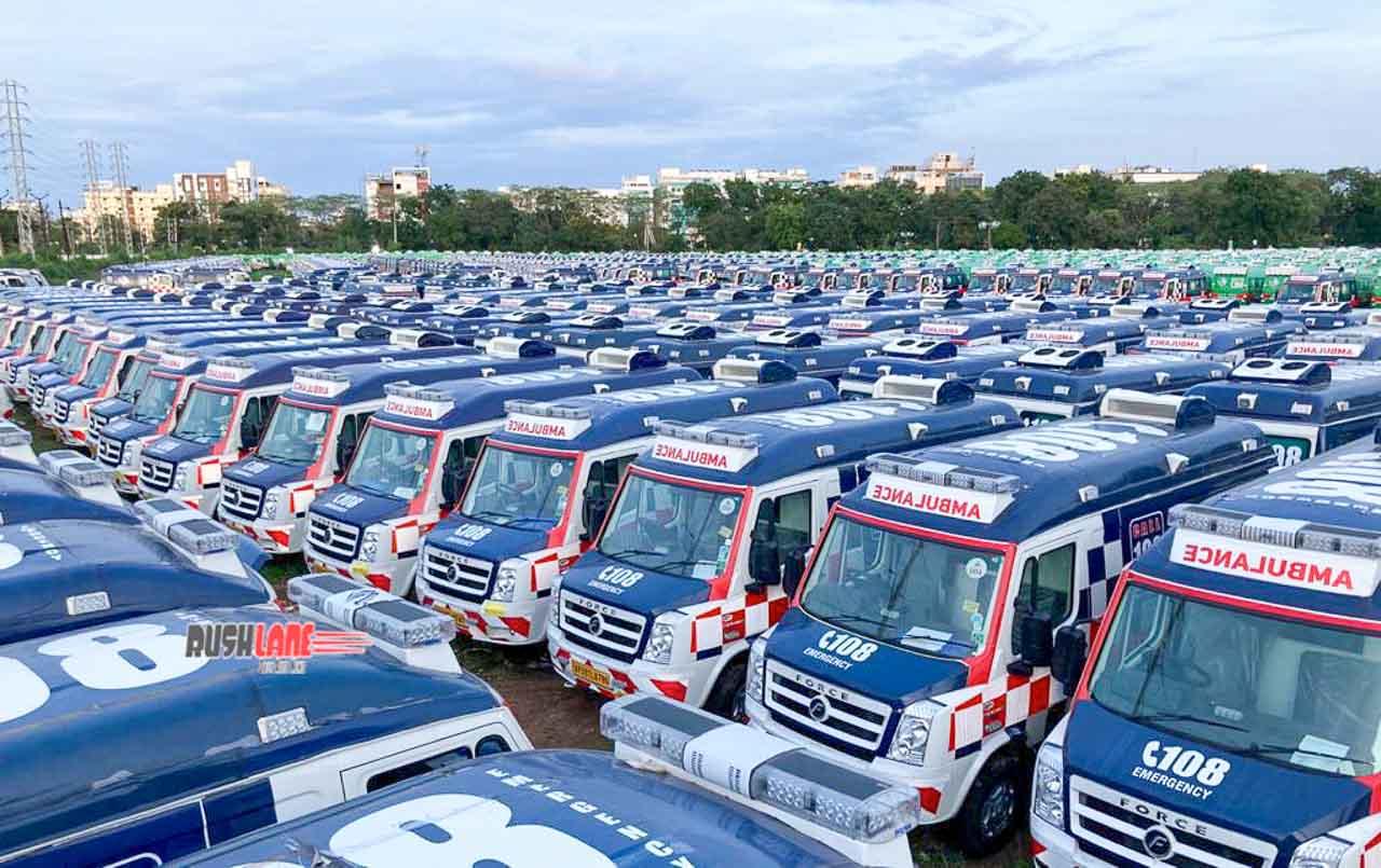 Force Motors Traveller Ambulances