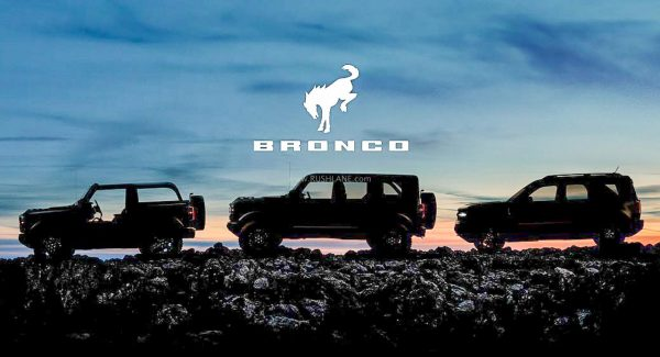 Ford Bronco Teasers