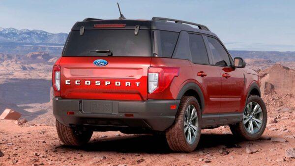 2022 Ford EcoSport render by Kleber Silva