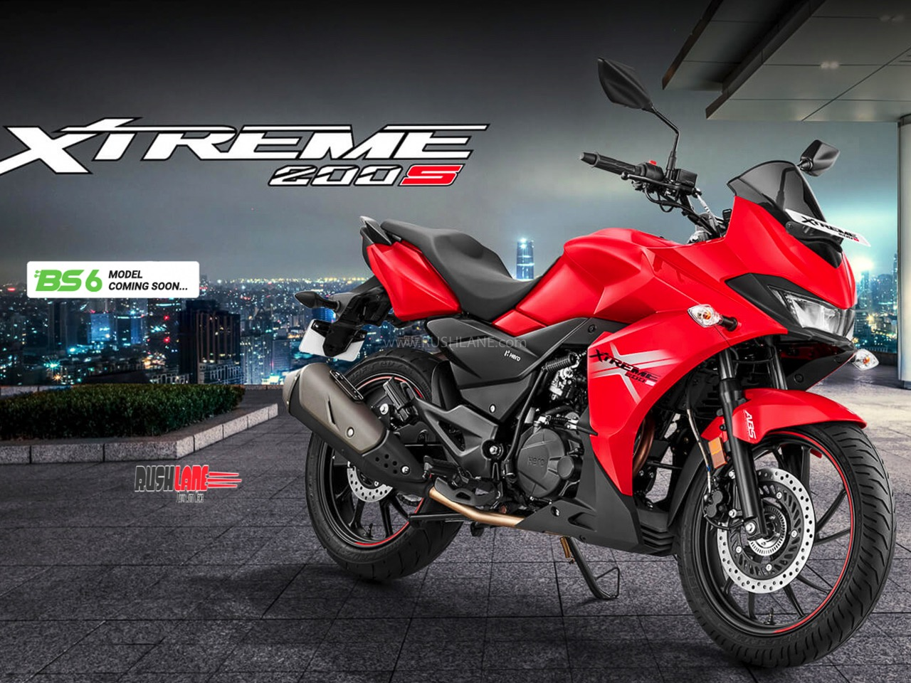 BS6 Hero Xtreme 200S teased