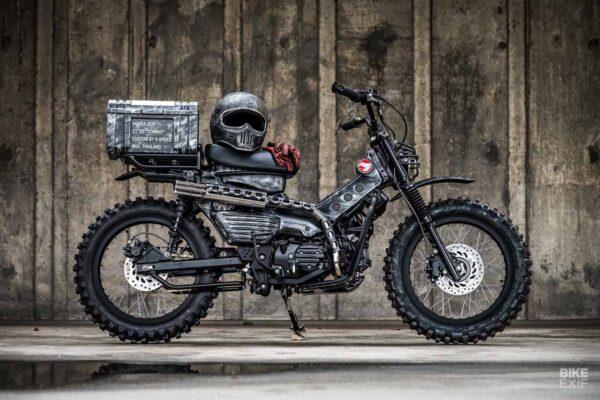Honda CT125 Hunter Cub modified