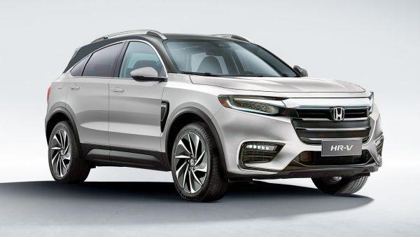 2022MY Honda HR-V render