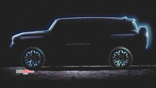 Hummer Electric SUV Teaser